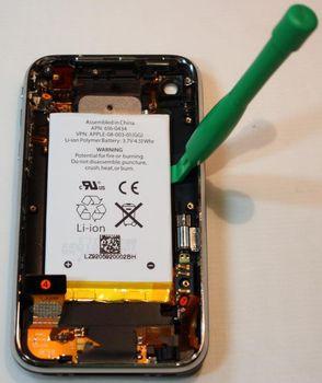 iPhone разобрали