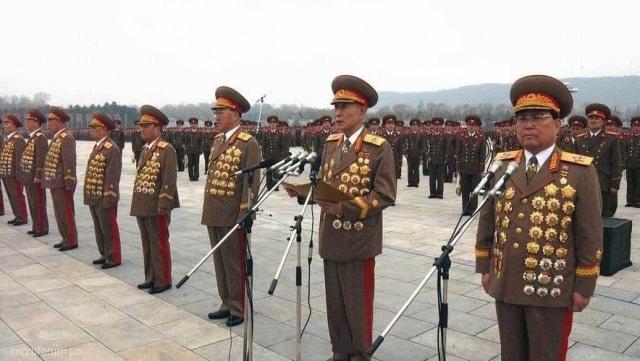 Северокорейские генералы