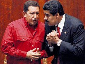 Николас Мадуро и Уго Чавес