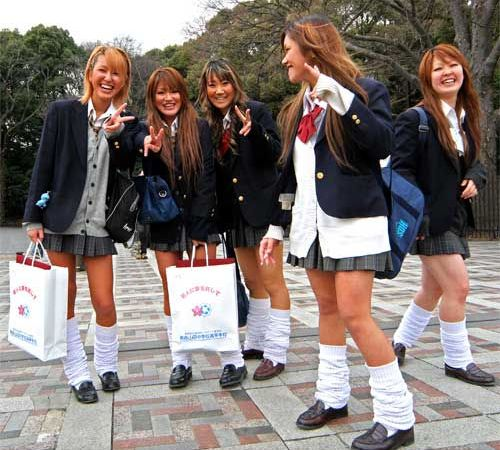 Школьная форма Япония