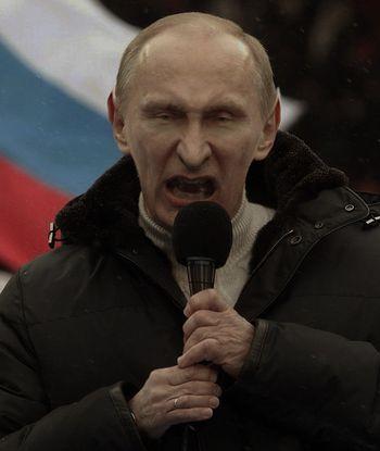 Путин вампир