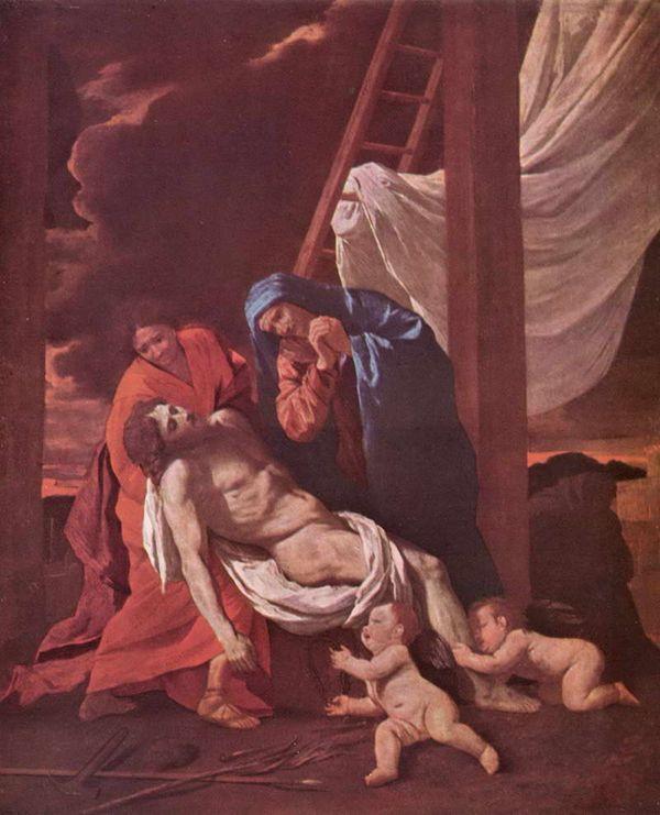 Никола Пуссен Снятие с креста