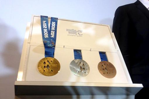 Покусанные медали Сочи-2014
