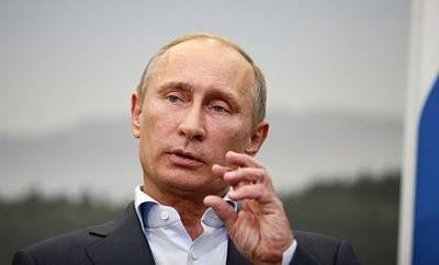 Путин колдует