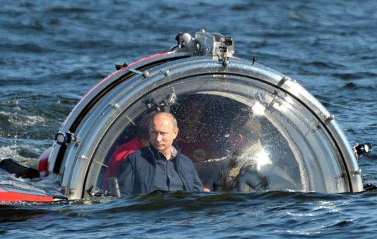 Давай на дно Владимир Путин