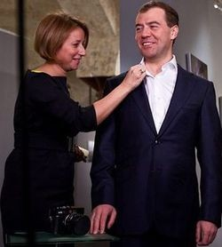 Медведев и Тимакова