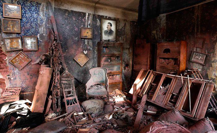 Кадр из фильма Ф. Бондарчука Сталинград