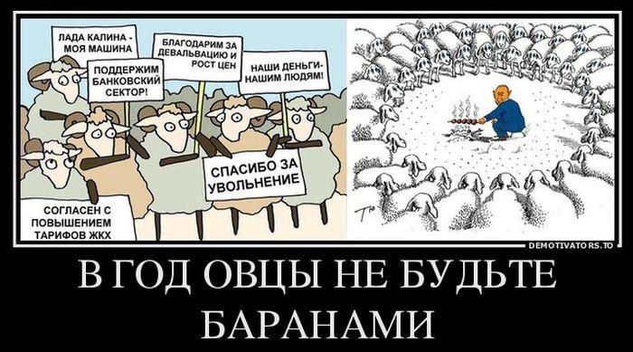В год Овцы не будьте баранами
