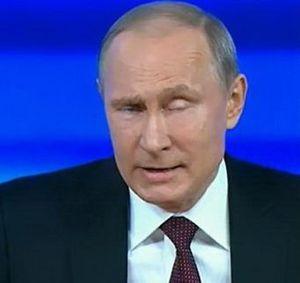 косой Путин
