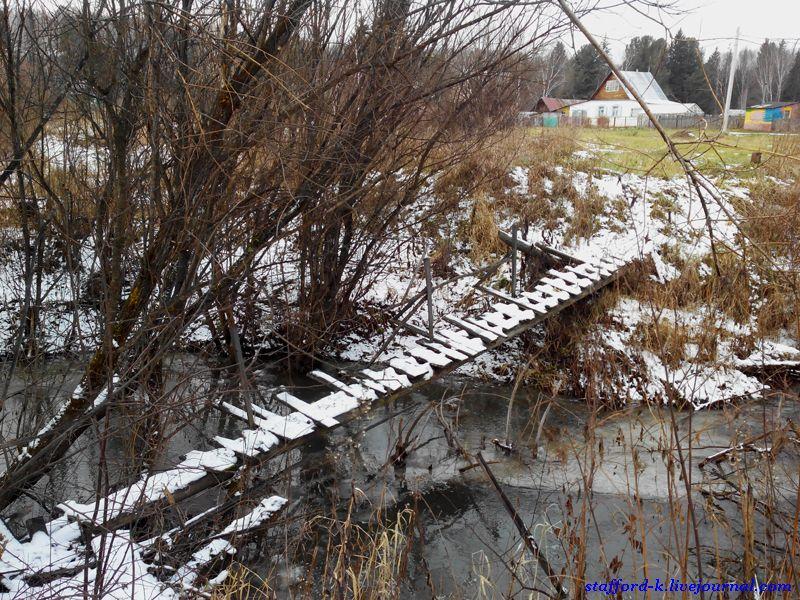 Мост в кустах 1