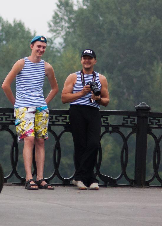 «Вражеский» десантник в Кемерове