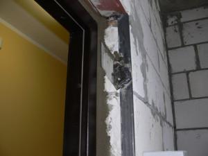 Установка стальной двери в проём из пеноблоков - staldoor