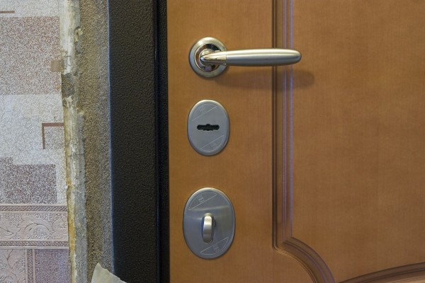 металлическая дверь теплый стан