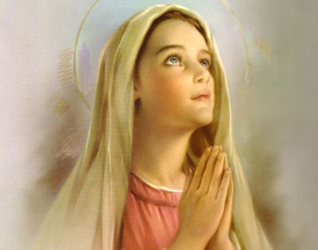 virgin-mary-holy-young-girl-praying-long