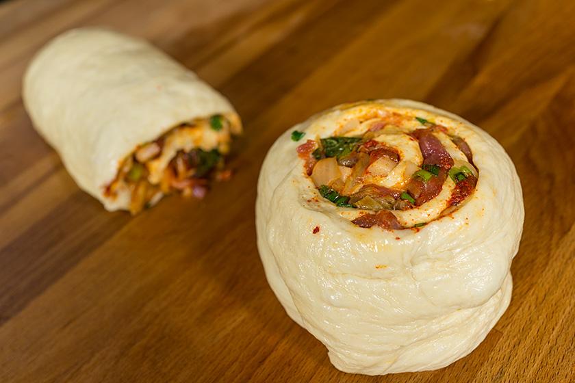 рецепты для мантышницы -мясной рулет