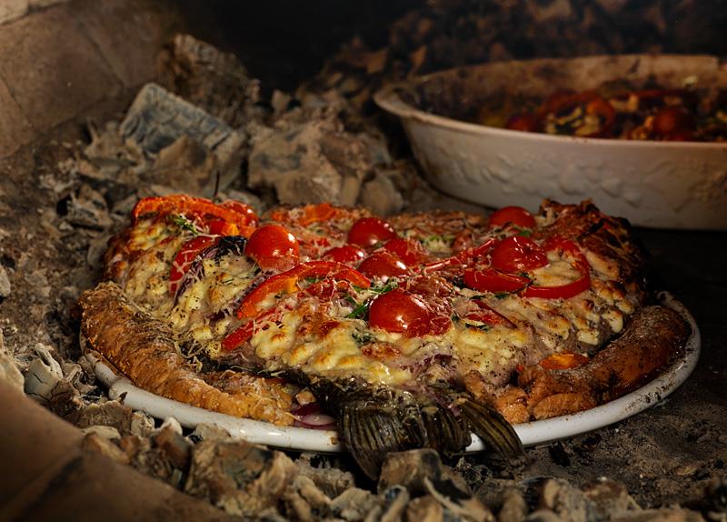 Пицца по италь¤нски рецепт с фото пошагово