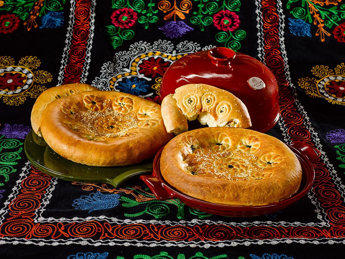 Как испечь узбекскую лепешку в обычной духовке?
