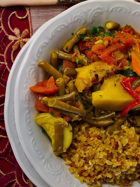Вкусное овощное рагу пошаговый рецепт