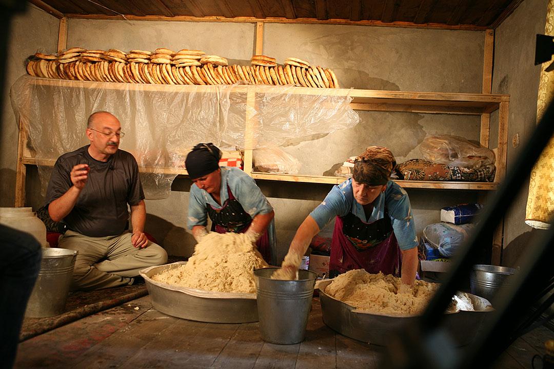 Кулинарное путешествие в Азербайджан-2008, 3-я серия.