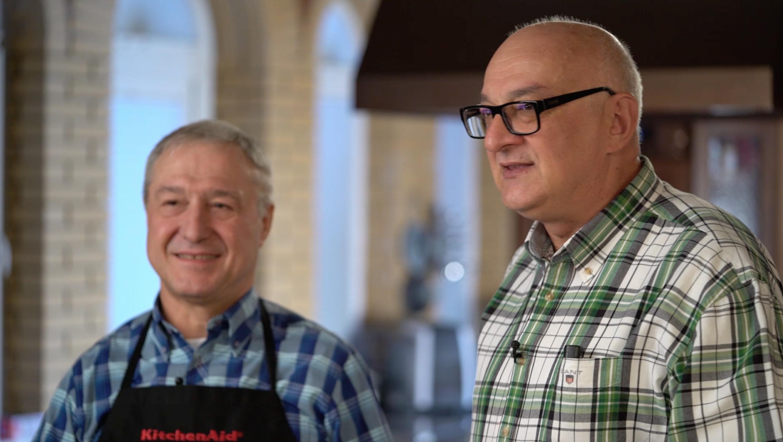 Два ризотто с поваром-итальянцем