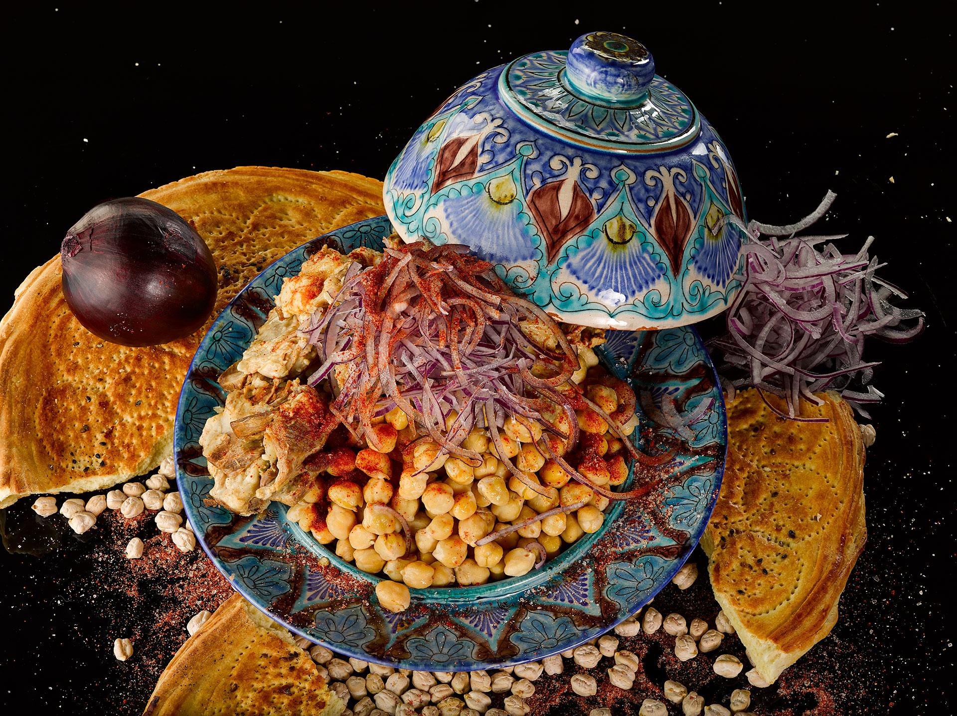 Как узбекский Нохат-шурак превратился в Хумус