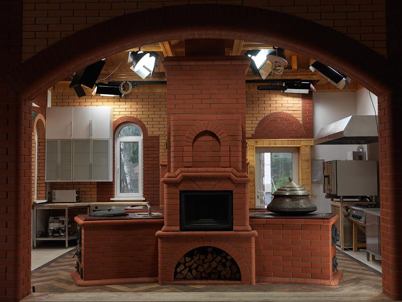 Печи на кухню своими руками