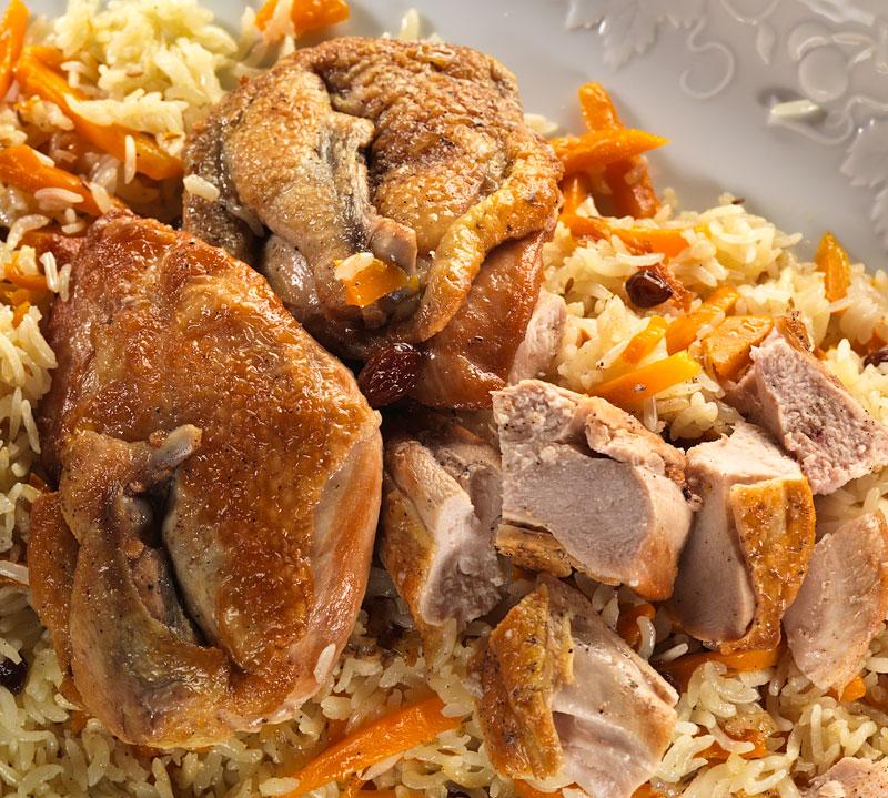 классический рецепт плова с курицей