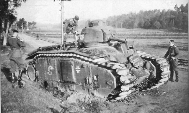 Nos chars Lourds B1-B1bis aux mains des Allemands. 67095_900