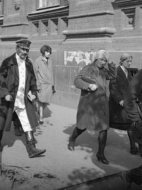 Сталин по дороге на работу