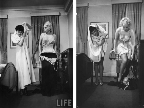 Как оголялись женщины в 30-е
