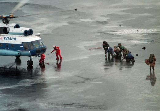 рыбаки спасенные
