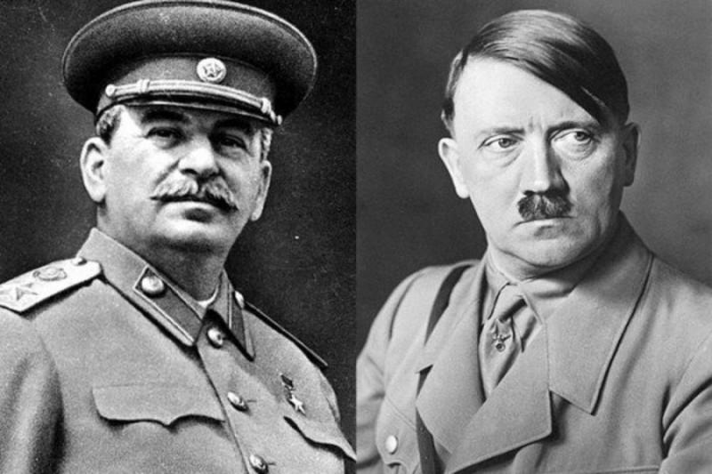 Сталина назвали пособником Гитлера