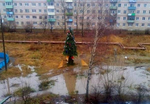 Где новогоднее настроение?
