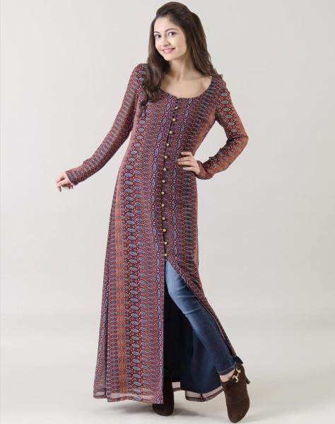 Aztec Lucia Maxi Dress