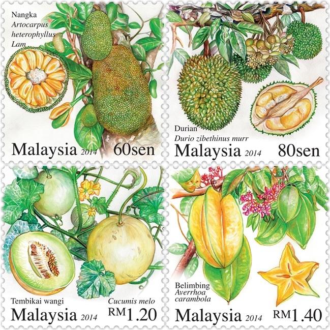 Малайзия фрукты