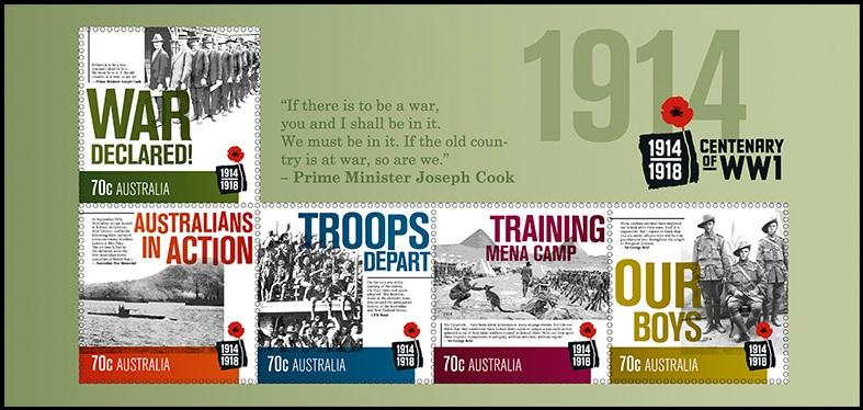 Австралия война блок