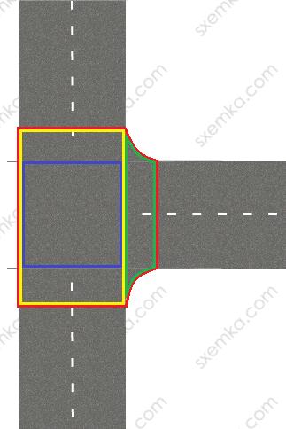 Т-образный перекресток