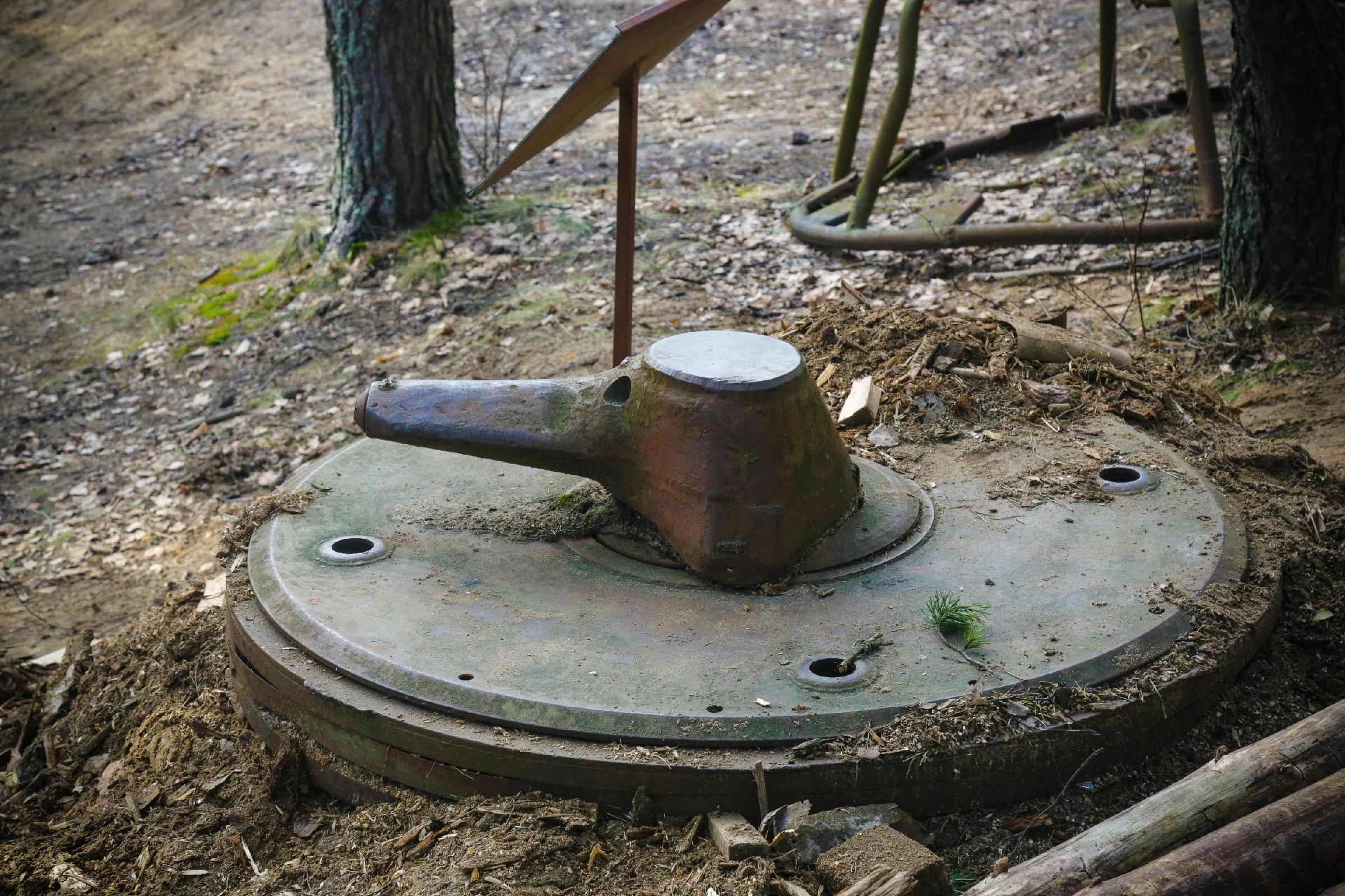 Подземный пулемёт «БУК», защищавший подступы к Ленинграду