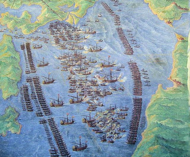 Battle of Lepanto by Fernando Bertelli