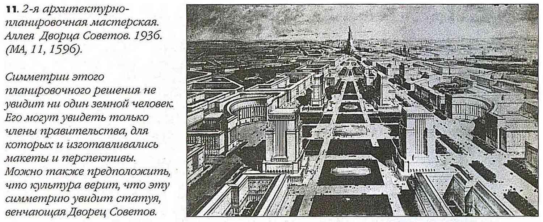 Аллея Дворца Советов