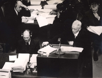 Otto Stahmer, Hermann Goering's Counsel in Nuremberg Trial