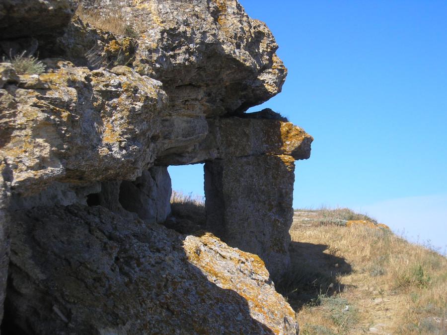 Здесь добывали камень