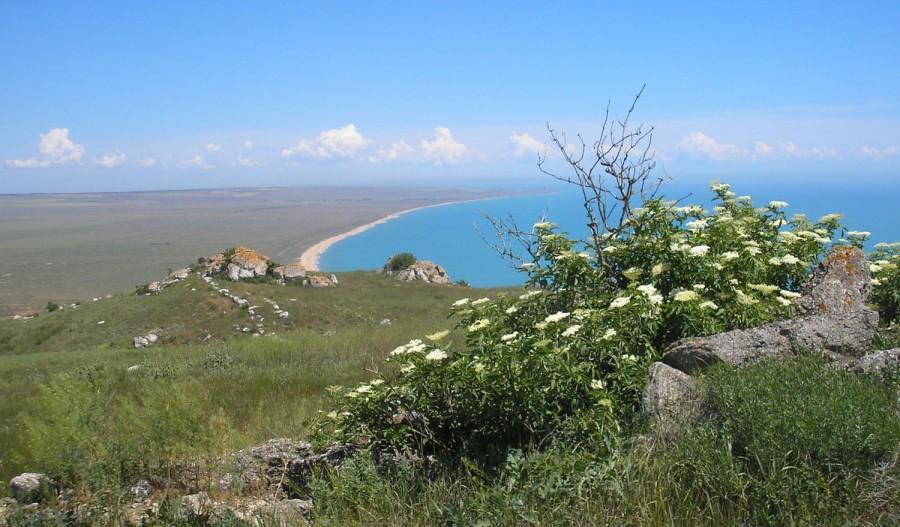 Вид с верхнего плато