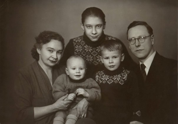 Семейное фото любительское