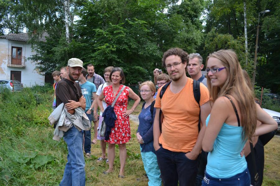 Студенты из Голландии на экскурсии