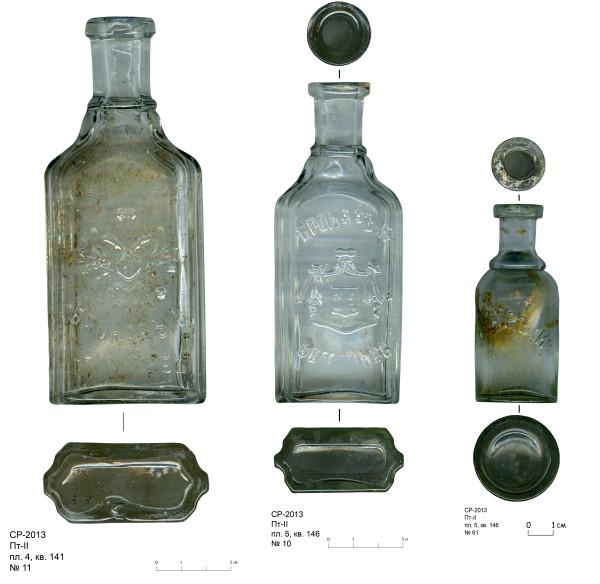Бутылочки Брокар