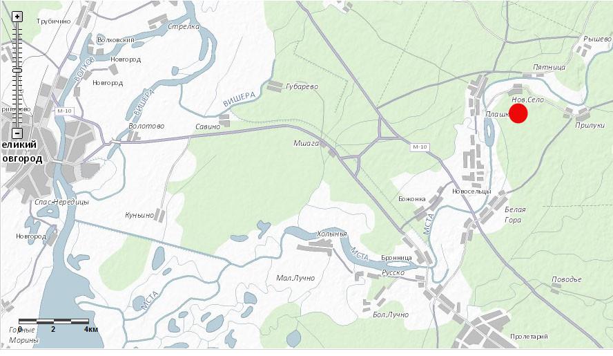 Место расположения участка