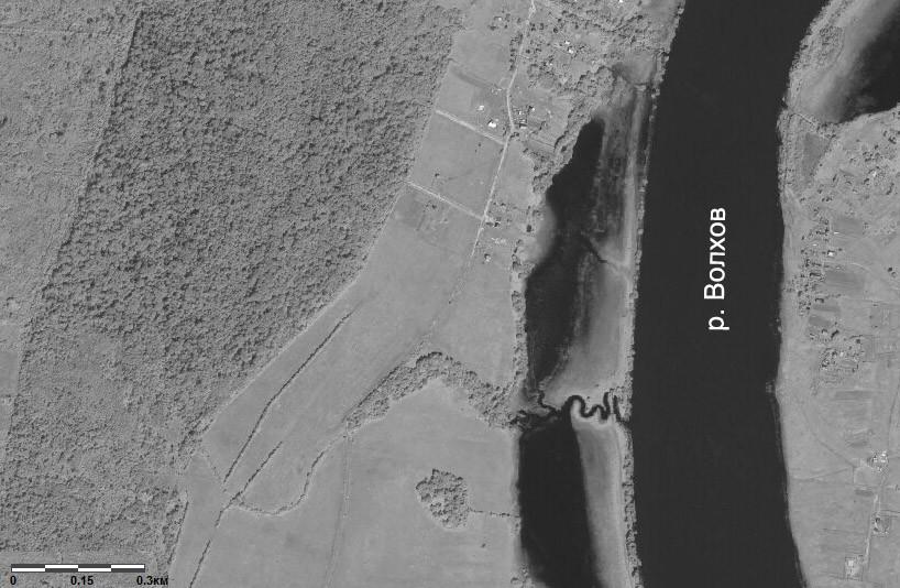 Снимок местности со спутника. Источник - сайт Росреестра