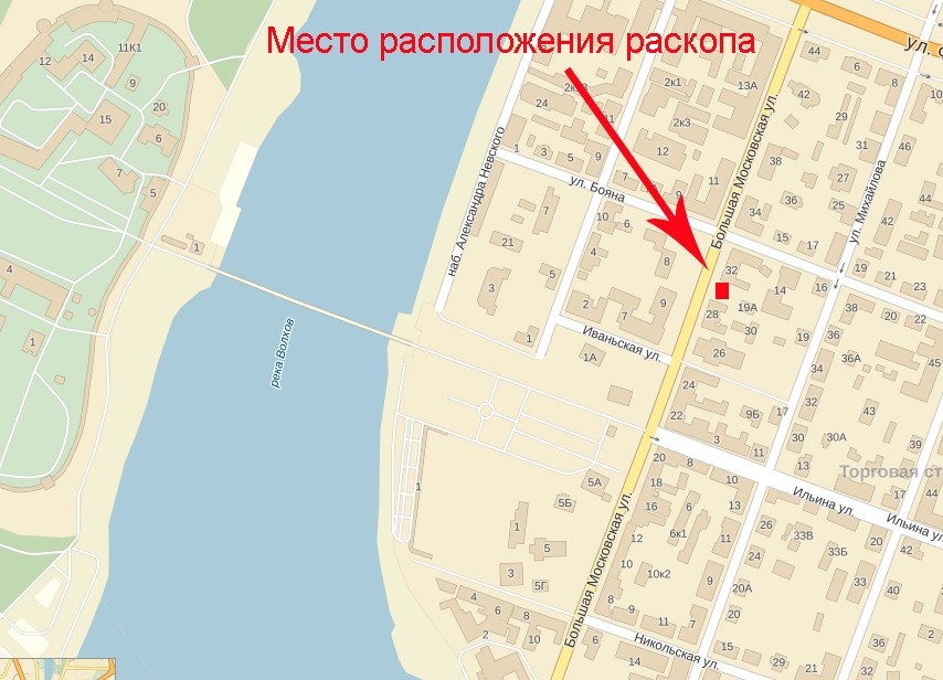 Схема. Источник плана maps.yandex.ru