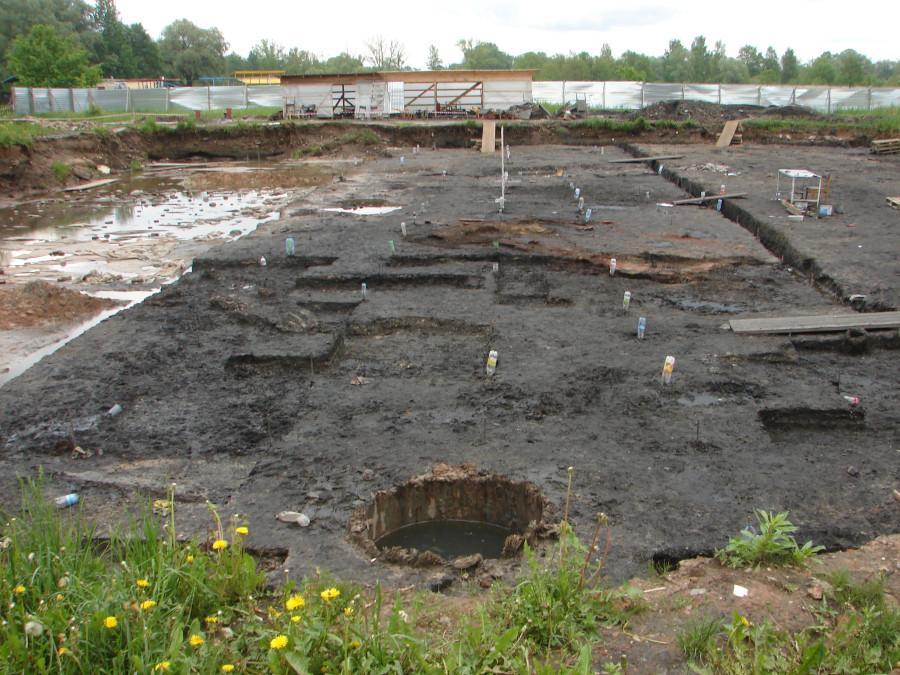 Курортный раскоп. Вид с запада